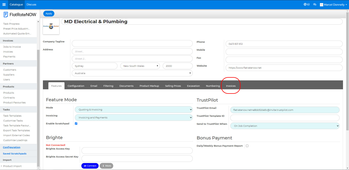 xero-select invoices